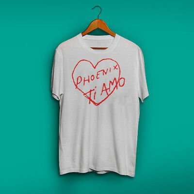 Asia Rock Band Phoenix Logo Men/'s Black T-Shirt Size S M L XL 2XL 3XL