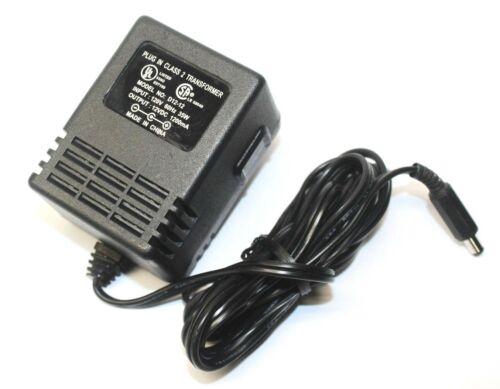 AC Adapter D12-12 Plug-In Class 2 Transformer Power Supply 12V DC 1200mA 1.2A