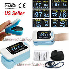 OLED Finger Tip Blood Oxygen Saturation Meter SPO2 PR Heart Rate Pulse Oximeter