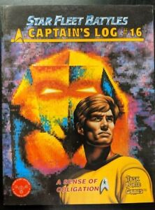 1x-Captain-039-s-Log-16-A-Sense-of-Obligation-Used-Acceptable-Star-Trek-star-Flee