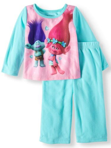 Girls Pajamas Paw Patrol Frozen Trolls Hello Kitty