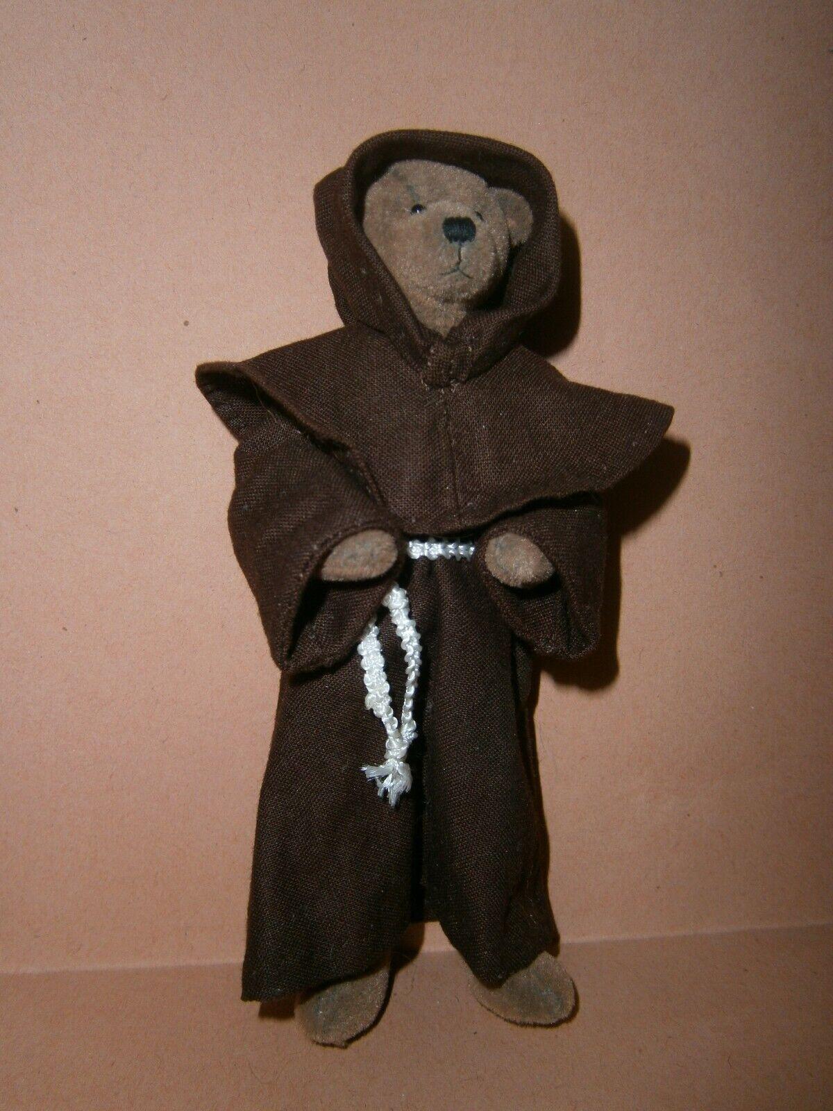 online barato Dollshouse Miniature 1 12  Teddy Bear Monk Monk Monk by Jopsehine Parnell  alta calidad y envío rápido
