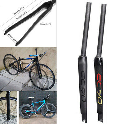 "EC90 Superlight Carbon Fiber 700C Road Bike Bicycle Fork 1-1//8/"" Threadless 100mm"