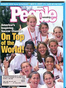 People-Magazine-July-26-1999-America-039-s-Soccer-Champs-Mia-Hamm-EX-012116jhe