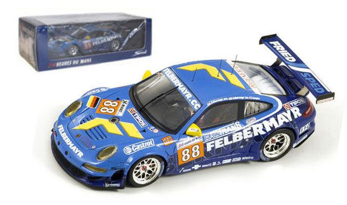 Spark S2585 Porsche 997 GT3 RSR 'Felbermayr-Predon' Le Mans 2010 - 1 43