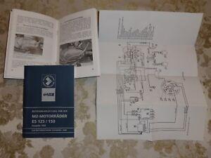 Betriebsanleitung-Bedienungsanleitung-MZ-ES-125-150-mit-Schaltplan-NEU