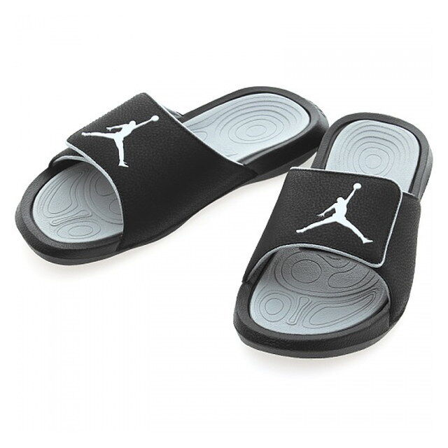0591e09e089a7e Nike Jordan Hydro 6 VI Black White Men Sandal Slides Slippers Aj6  881473-011 12 for sale online