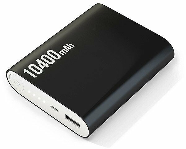 CHARGEUR EXTERNE BATTERIE 10400 mAh SMARTPHONE PORTABLE USB 2.1A POWER BANK