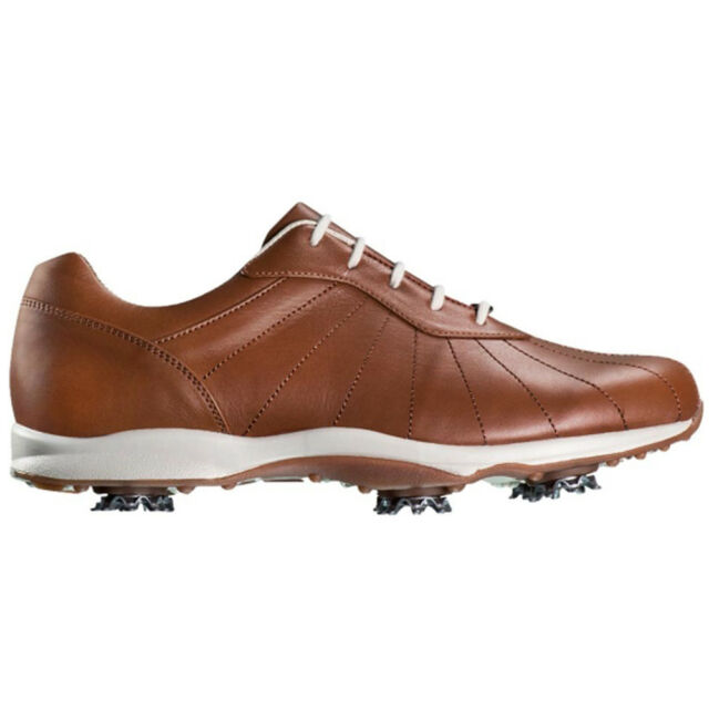 c o Womens FootJoy 96106 emBODY Caramelo WaterProof Leather Golf Shoes 4cfa7d1b344