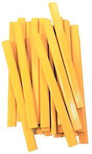 Flat-Wooden-Yellow-Carpenter-Pencils-72-Count-Bulk-Box-School-Bus-Yellow