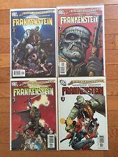 DC Comics SEVEN SOLDIERS: FRANKENSTEIN #1, 2, 3, 4 Set; Grant Morrison 2006