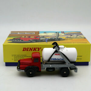 1-43-Atlas-Dinky-805-Truck-Unic-Multibenne-Marrel-and-tank-Primagaz-Diecast-Toys