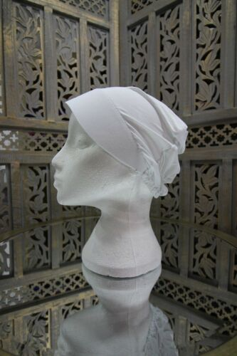 Cap with Plastic Front Style Under Scarf Bonnet//Hijab LYCRA