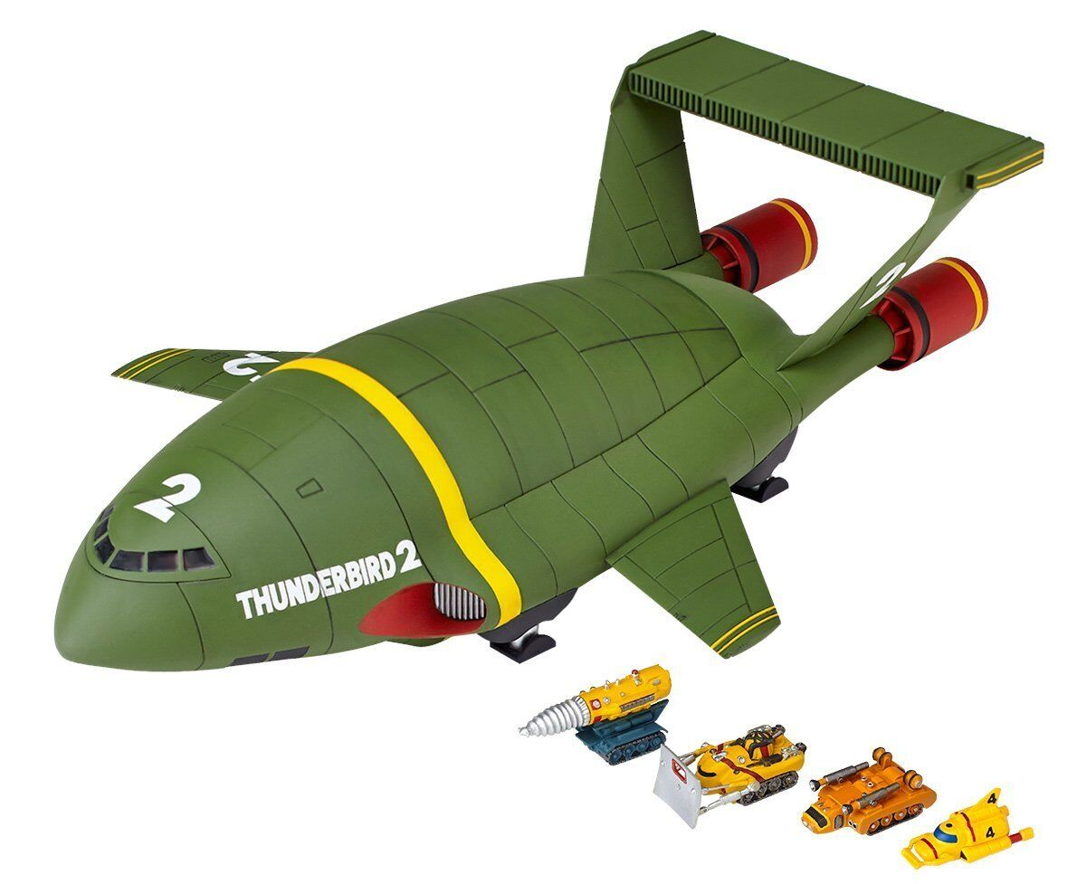 Kaiyodo Revoltech Thunderbirds RR-001 THUNDERBIRD 2 Second Edition Figure Japan
