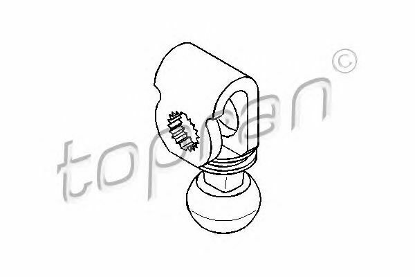 TOPRAN Selector-//Shift Rod 721 267