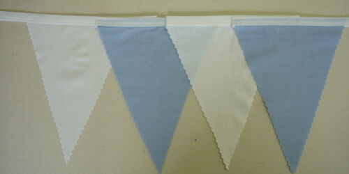Fabric wedding Decoration bunting Blues Navy Chelsea blue Royal blue Baby blue
