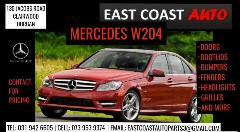 MERCEDES BENZ W204 USED & NEW PARTS