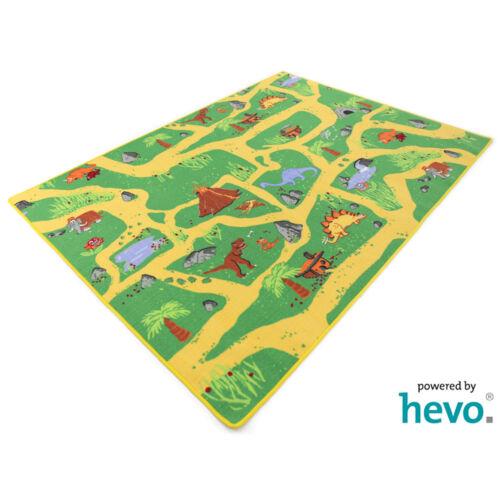 Dinosaurier HEVO ® TeppichSpielteppichKinderteppich 200x200 cm