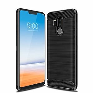 LG-g7-thinq-Luxury-Shockproof-TPU-Rugged-Gel-Schutzhuelle-Skin-Huelle-Kohlefaser-TPU