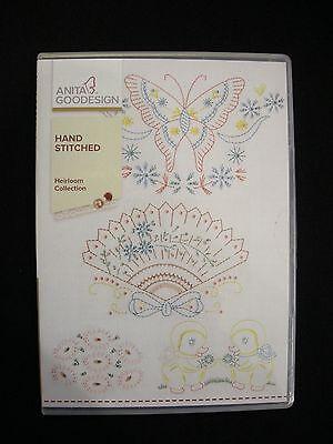 Anita Goodesign - Handstitched - Heirloom Collection - NIP