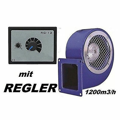 1200m3//h  Industrial Centrifugal Blower Extractor Fan with 500W Speed Controller