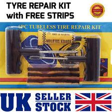 Car Van Tyre EMERGENCY PUNCTURE Repair DIY Kit With 3 Strips