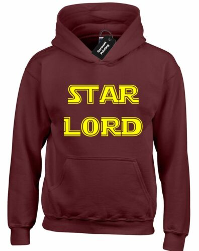 STAR LORD HOODY HOODIE FUNNY GUARDIANS DESIGN QUALITY GALAXY TROOPER GROOT