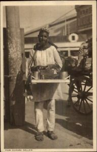 Native-Life-India-Ethnography-c1910-Postcard-PAN-SUPARI-SELLER