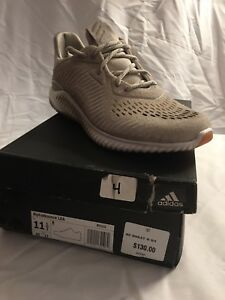 b4e9e33b20c1a Image is loading Adidas-Alphabounce-Lea-Mens-BY3122-Clear-Brown-Running-