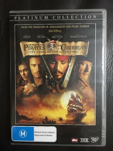 1 of 1 - Pirates Of The Caribbean: The Curse Of The Black Pearl DVD Region 4