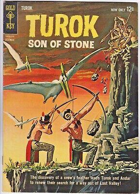 Turok Son Of Stone 30 Gold Key Andar Dinosaurs Painted Cover Art Ebay