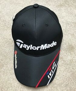 Black Taylormade M4 Golf Cap Hat with Magnetic Ball Marker One Size ... 57d28050835