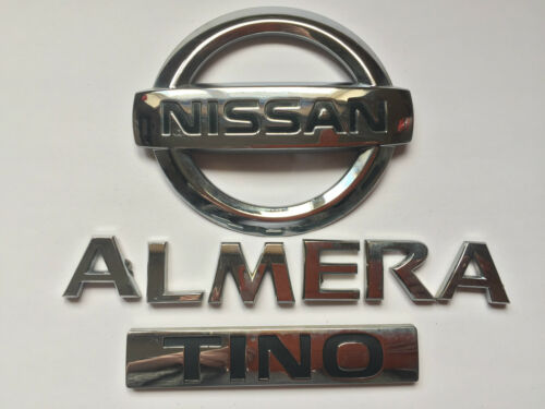 "Nissan Almera Tino/"" /""insignia trasera 84890BU700 B243"