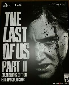 PS4-The-Last-of-Us-2-II-Collector-039-s-Edition-BRAND-NEW-SEALED-Playstation-4