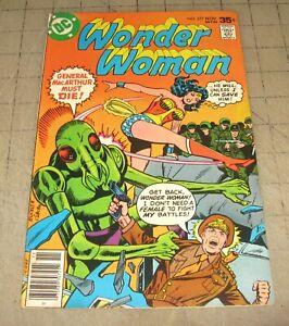 WONDER-WOMAN-237-Nov-1977-VG-Condition-Comic-KUNG-The-Assassin-1st-APP