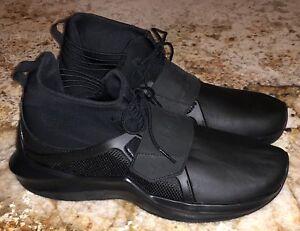 4bcc393a69f PUMA Rihanna Fenty Trainer Hi Black Shoes Sneakers NEW Mens Sz 10 11 ...