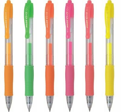 12 x Pilot G-2 0.5mm Extra Fine Retractable Rollerball Pens Tracking no. Pink