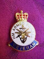 British HM Armed Forces Veterans Military Lapel Pin Badge ARMY,SAS,RAF,RN,RM,SBS