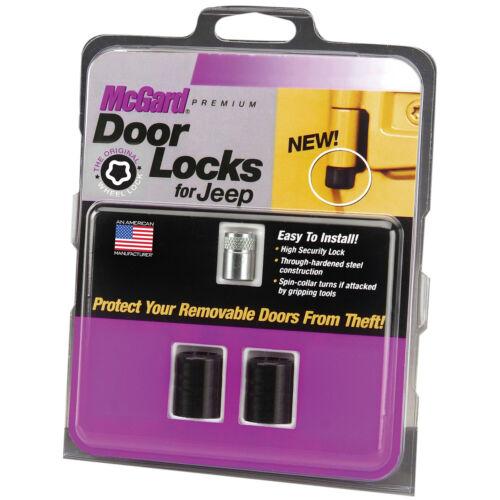 Jeep Wrangler 2-Door LK//TJ//Unlimited LJ McGard 76058 Door Lock Kit