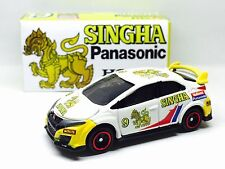 JAPAN TOMY TOMICA SINGHA BEER RACING CAR HONDA CIVIC TYPE R FK2 1/64 DIECAST