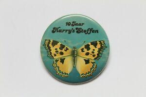 PIN Insignia Redonda 10 Jaar HARRY'S STEFFEN Años 80 Paises bajos    -  5,5cm Ø