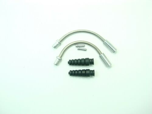 Stainless Steel Shimano V Brake Cable Boot /& Guard set