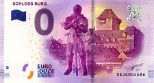 ALLEMAGNE Solingen, Schloss Burg 3, 2017, Billet 0 € Souvenir