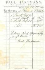 alte Rechnung,  Dettingen (Horb) Paul Hartmann Bäckerei 1925 #E764