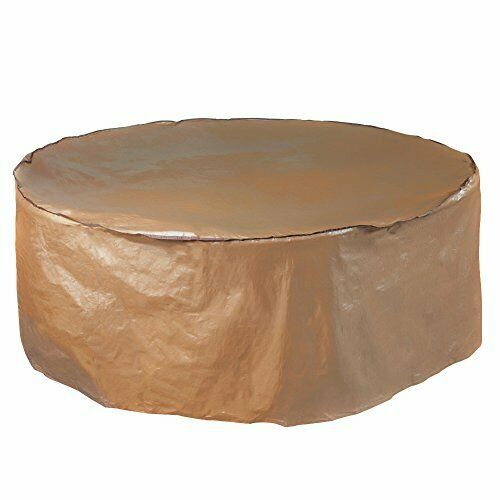Porch Round Table & Chair Cover Set - Water-Repellent & Fire Resistant by ABBA