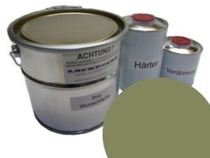 1-75-LITROS-Set-2k-Pintura-Auto-Union-l63y-manila-verde-DE-EPOCA-lackpoint