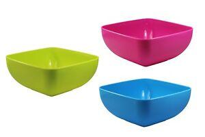 Schale-eckig-3-versch-Farben-eckig-ca-23-x-23-cm-Gross-Schuessel