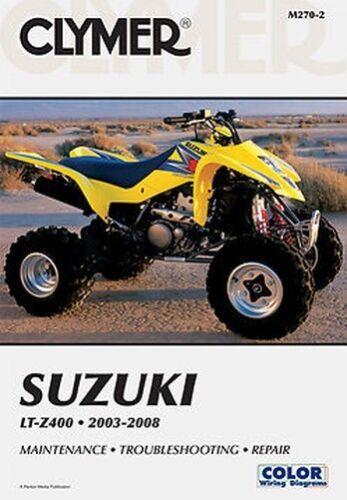 Anleitungen & Handbcher Sonstige Suzuki LTZ400 LT-Z400 ATV ...