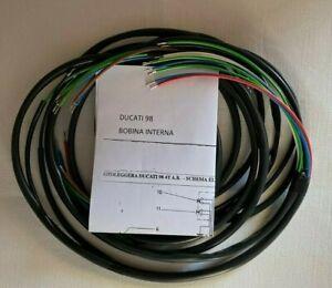 IMPIANTO-ELETTRICO-ELECTRICAL-WIRING-MOTO-DUCATI-98-BOBINA-INTERNA