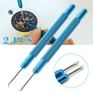 2pcs-Precision-Uhr-Hand-Entferner-Pin-Hebel-ersetzen-Uhrmacher-Reparatur-Werkzeuge